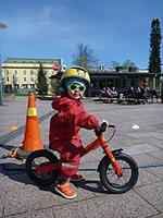 Potkupyöräilijä