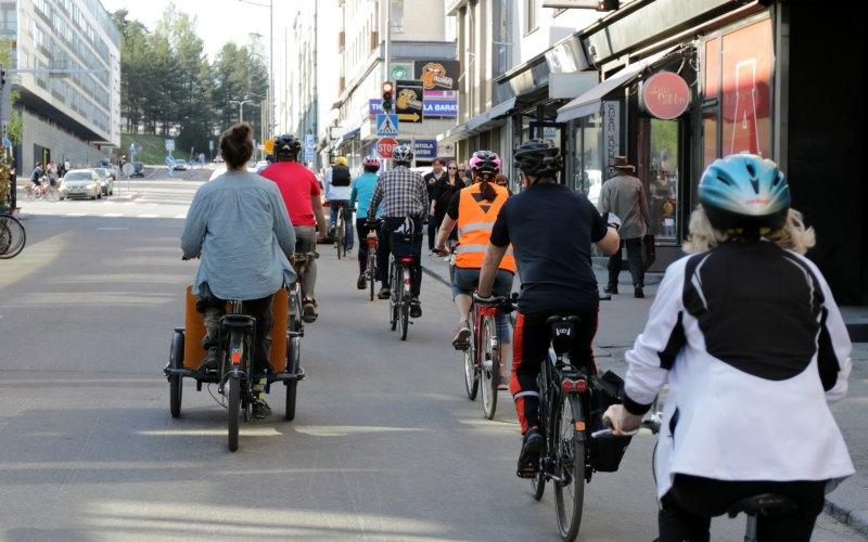 Vaikuttajien pyöräily