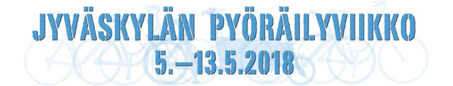 Jyväskylän Pyöräilyviikko 5.–13.5.2018